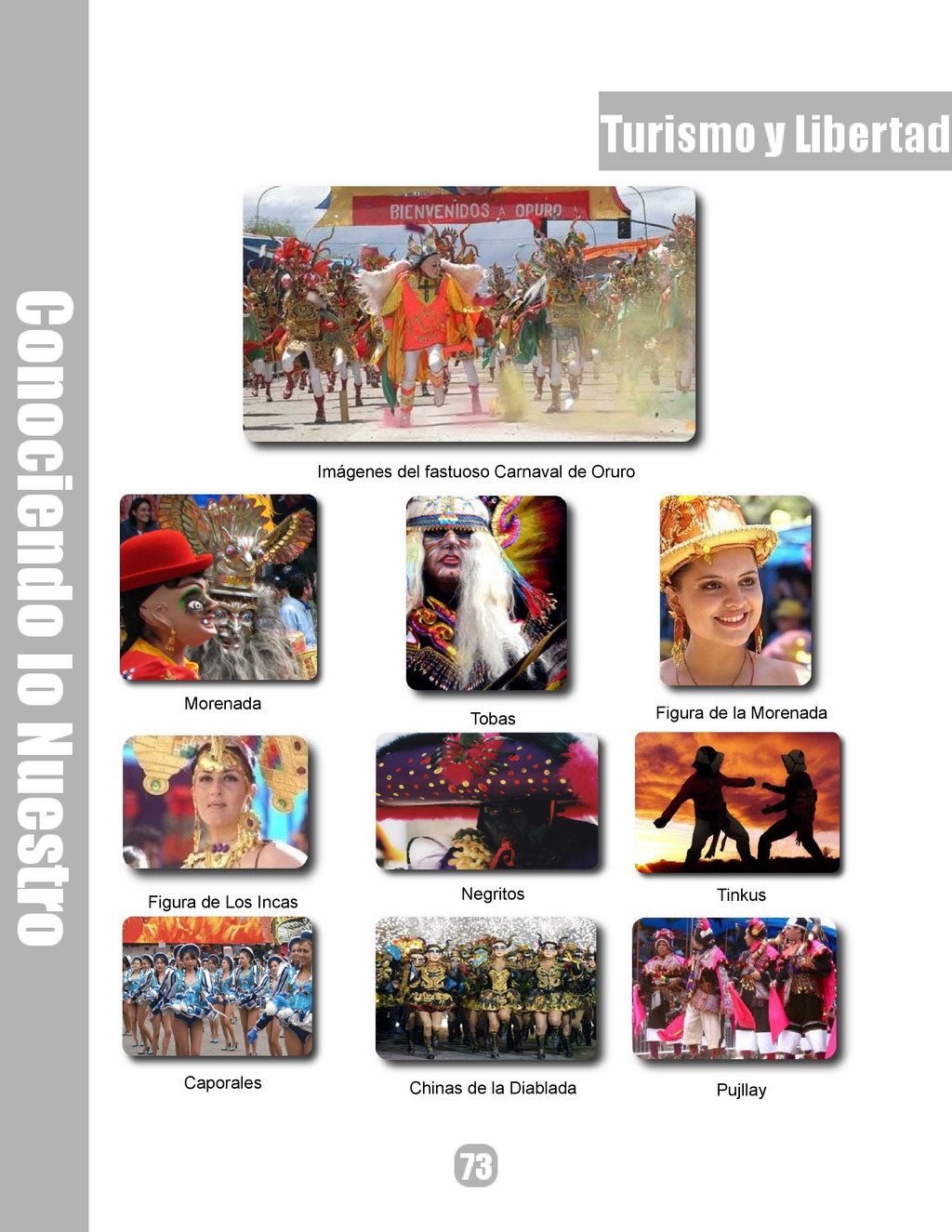 Imágenes del fastuoso Carnaval de Oruro Morenad...