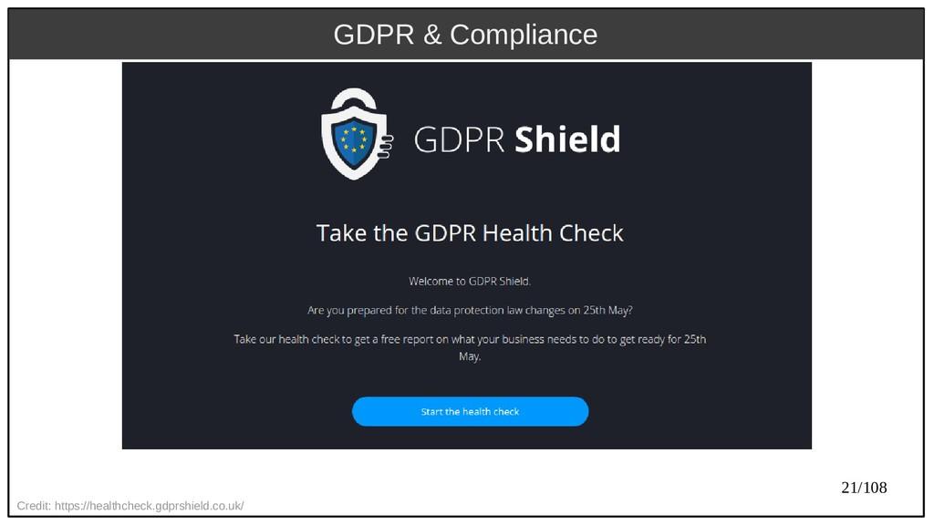 21/108 Credit: https://healthcheck.gdprshield.c...