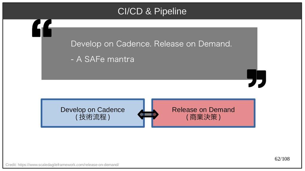 62/108 CI/CD & Pipeline Credit: https://www.sca...