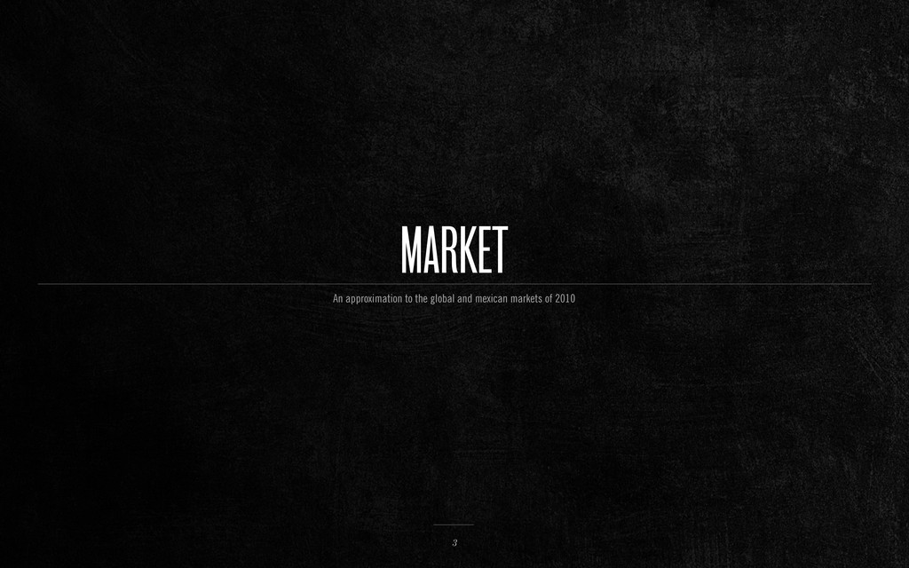MARKET 3 An approximation to the global and mex...