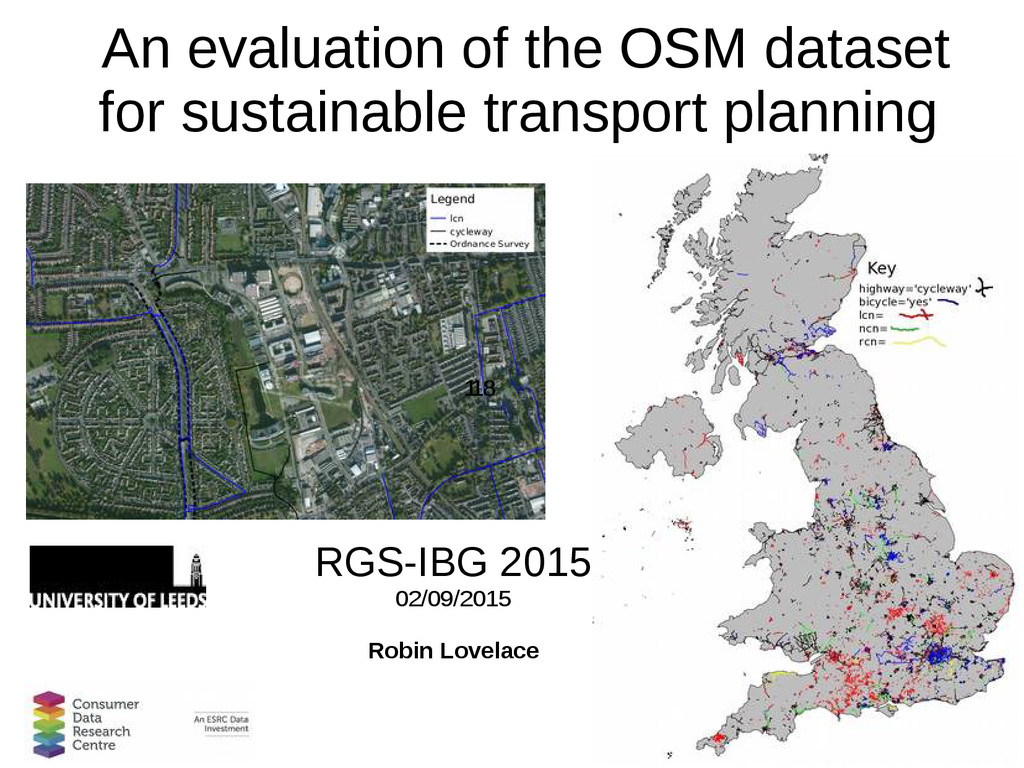 1 An evaluation of the OSM dataset for sustaina...