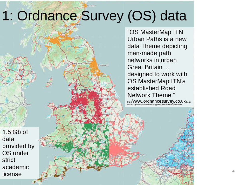 "4 1: Ordnance Survey (OS) data ""OS MasterMap IT..."