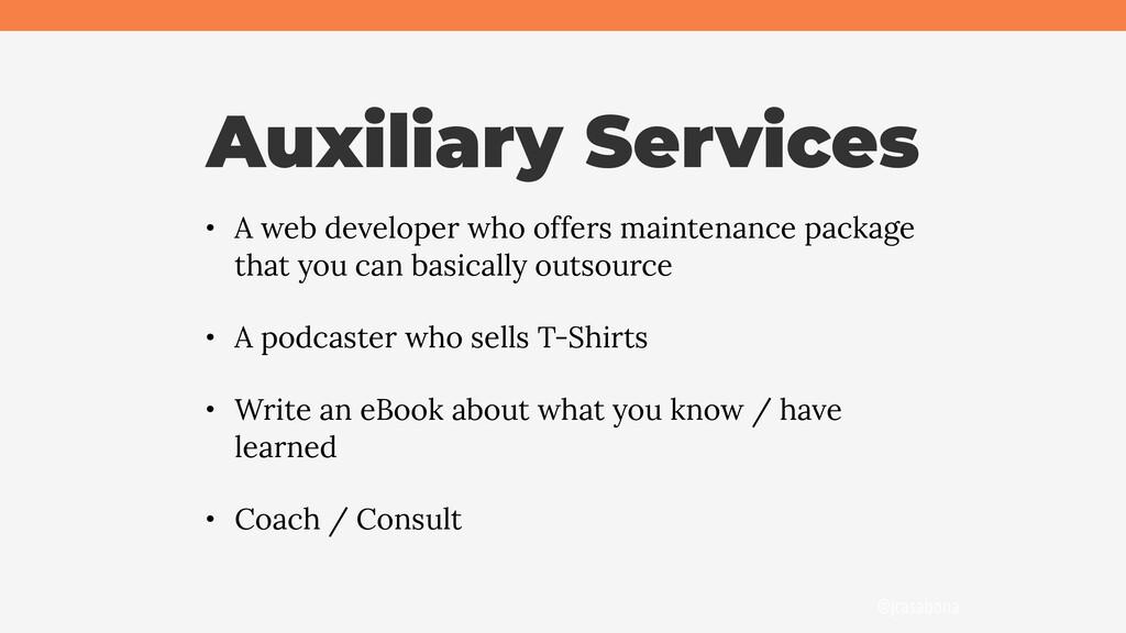 @jcasabona Auxiliary Services • A web developer...