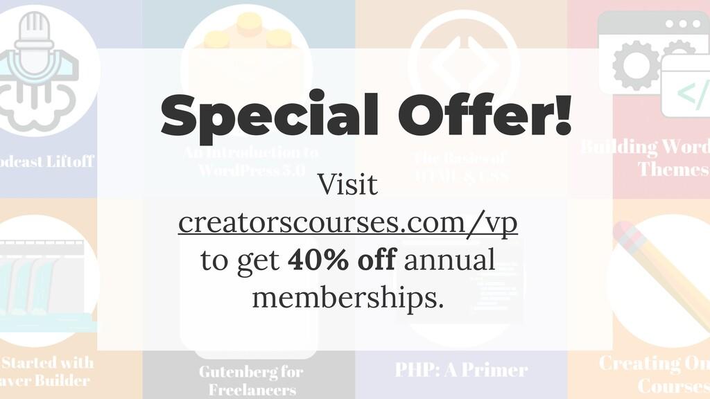 @jcasabona Special Offer! Visit creatorscourses...