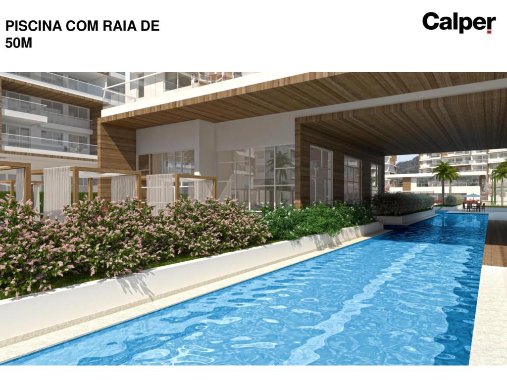 PISCINA COM RAIA DE 50M