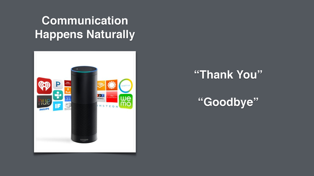 """Thank You"" ""Goodbye"" Communication Happens Nat..."
