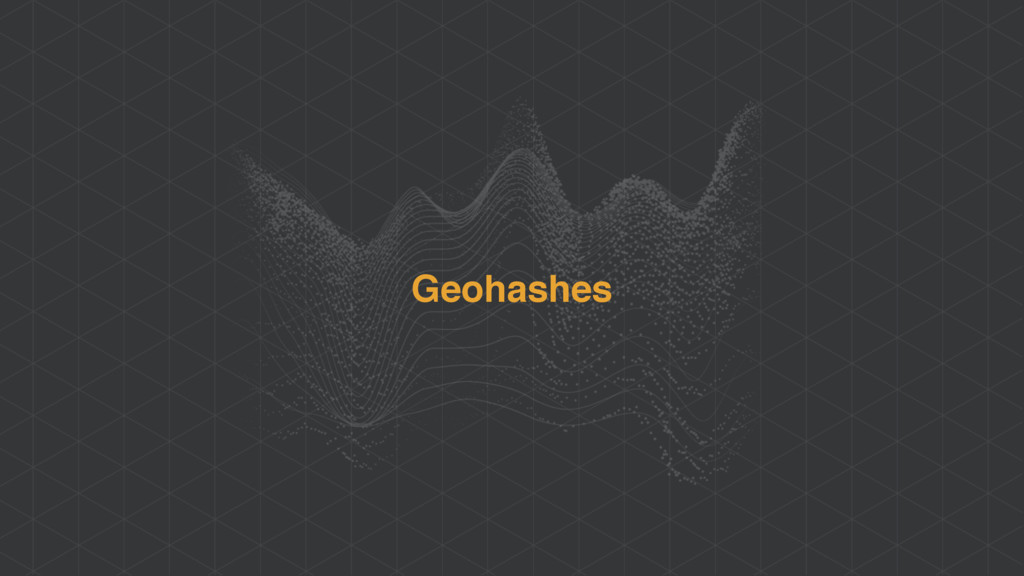 Geohashes