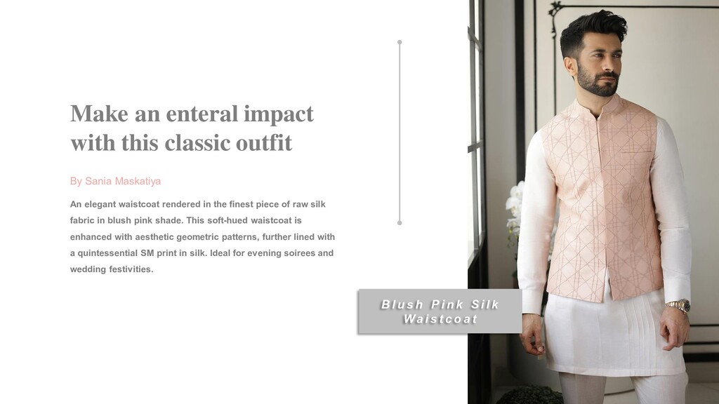 Make an enteral impact with this classic outfit...