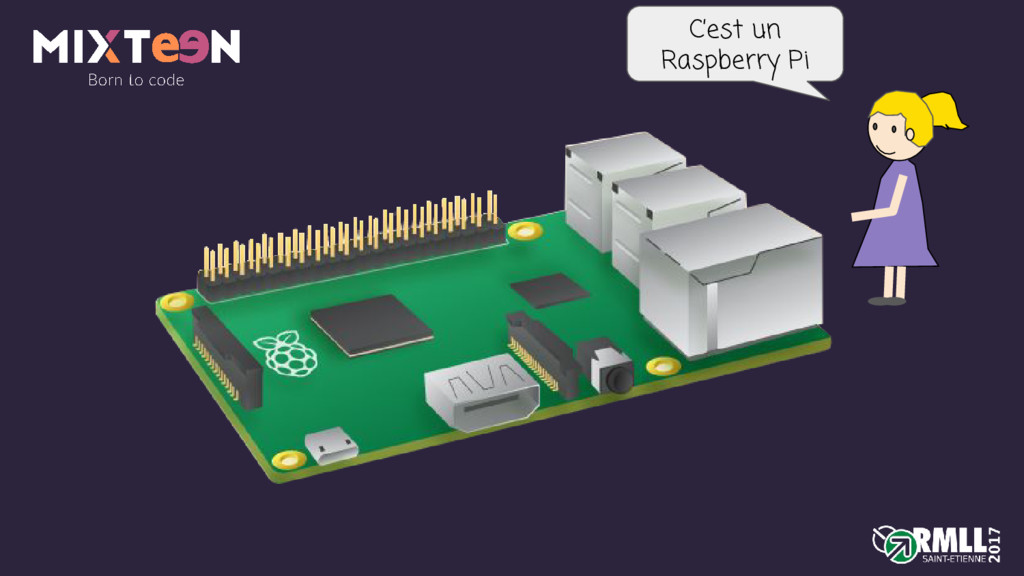 C'est un Raspberry Pi