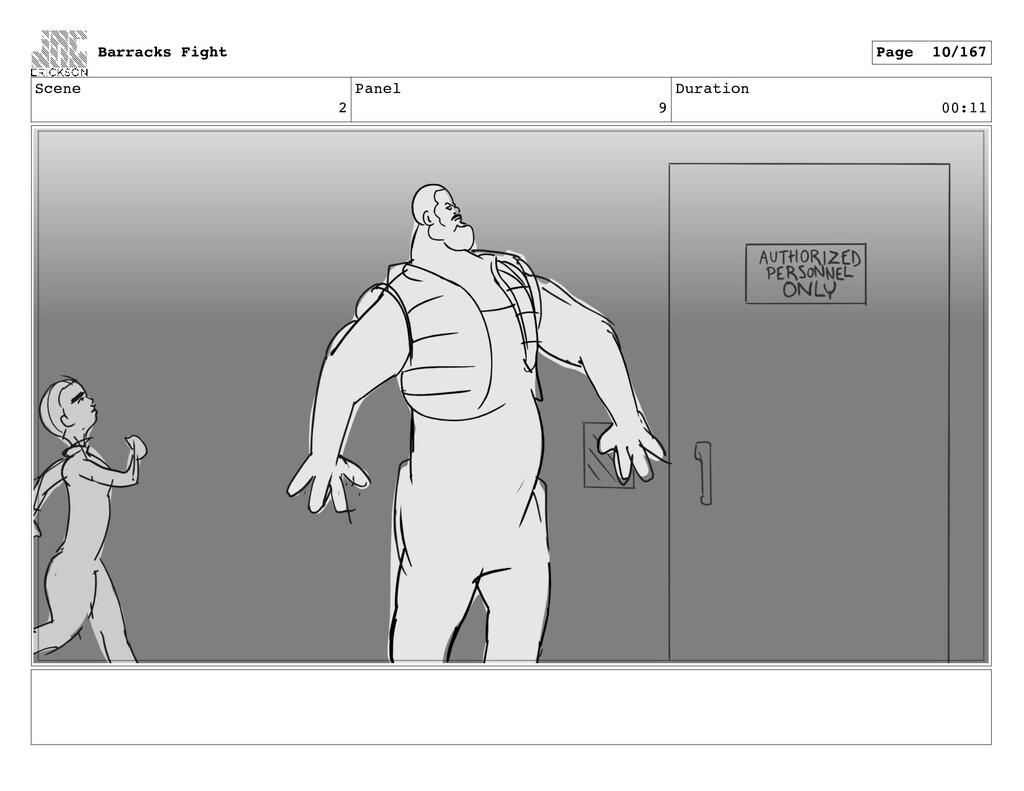 Scene 2 Panel 9 Duration 00:11 Barracks Fight P...