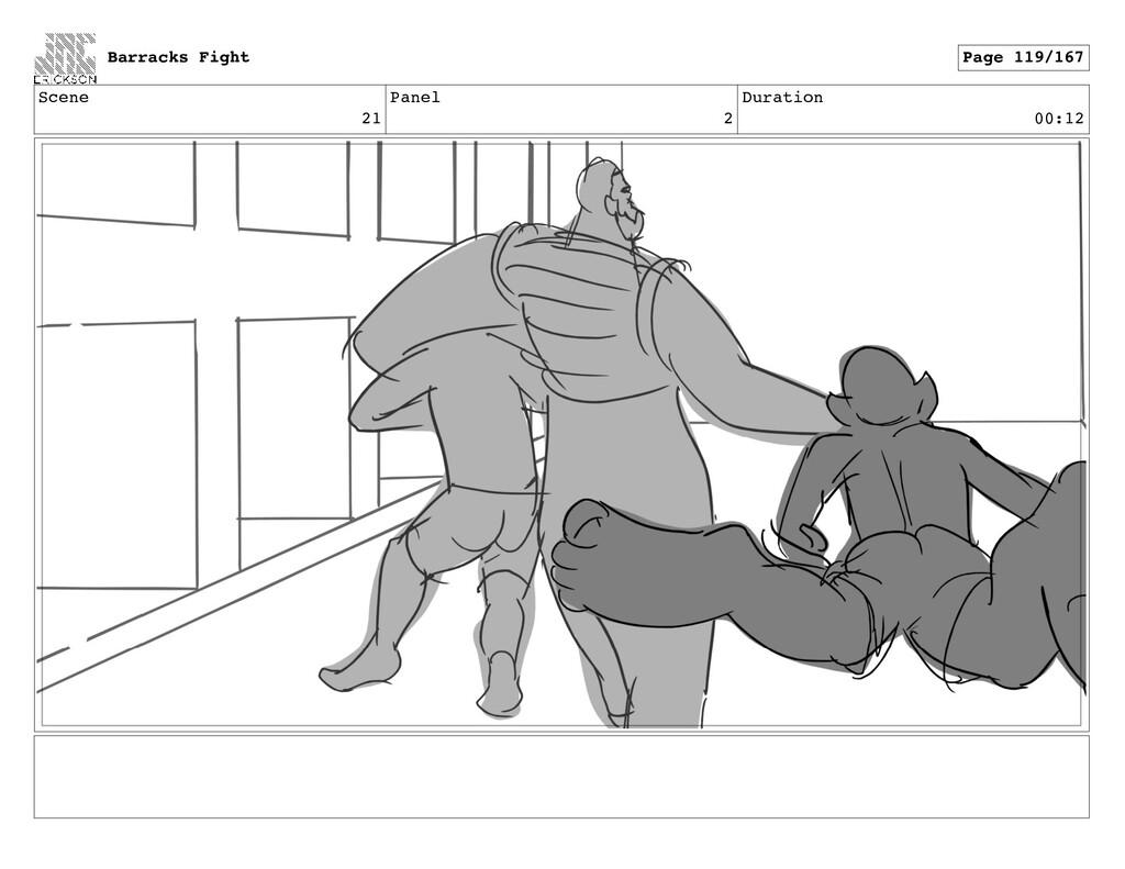 Scene 21 Panel 2 Duration 00:12 Barracks Fight ...