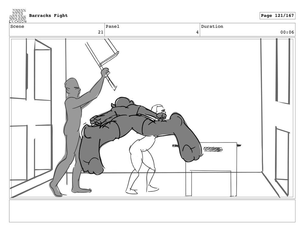 Scene 21 Panel 4 Duration 00:06 Barracks Fight ...