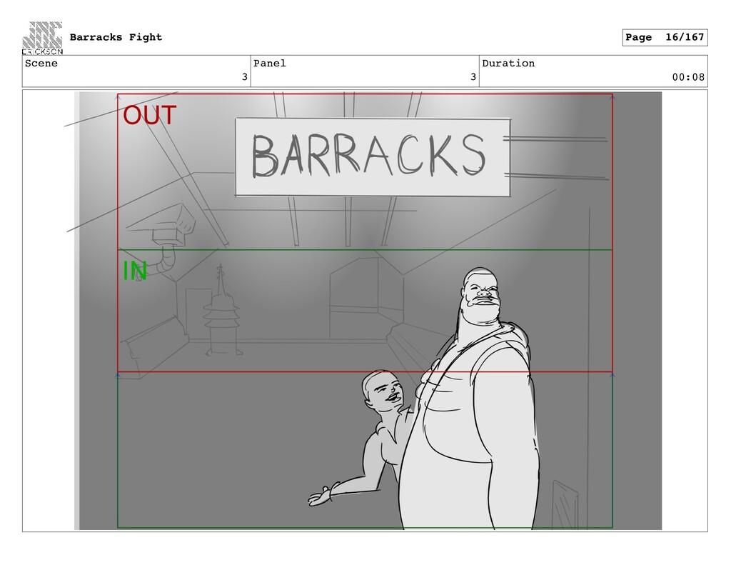 Scene 3 Panel 3 Duration 00:08 Barracks Fight P...
