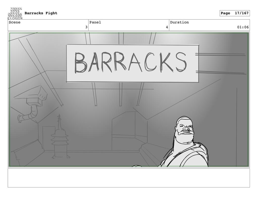 Scene 3 Panel 4 Duration 01:06 Barracks Fight P...