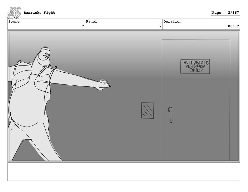 Scene 2 Panel 2 Duration 00:12 Barracks Fight P...