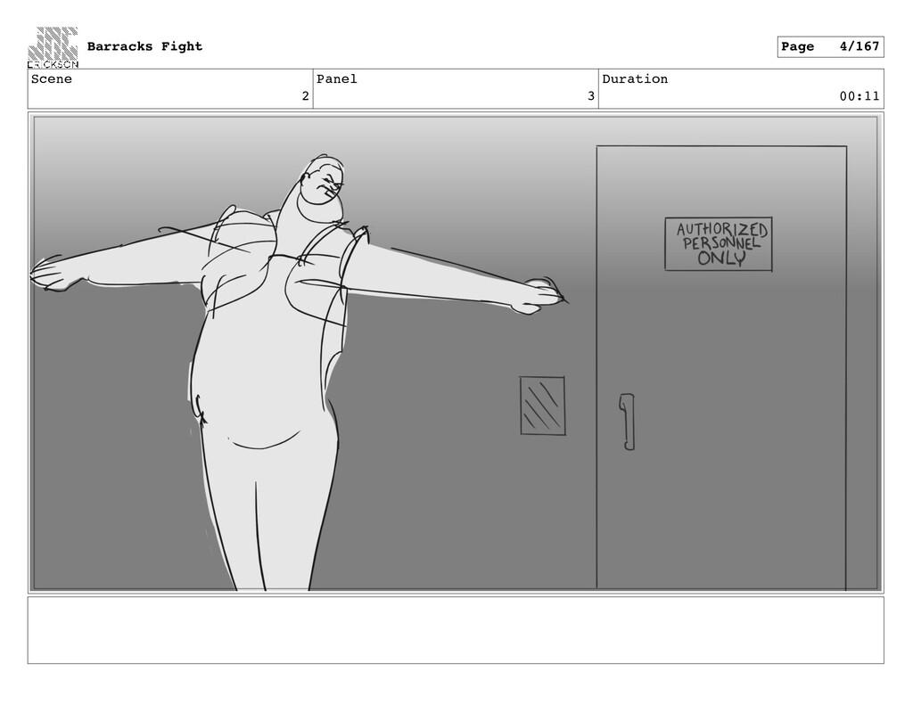 Scene 2 Panel 3 Duration 00:11 Barracks Fight P...