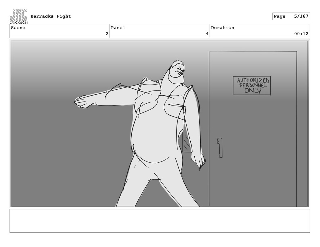 Scene 2 Panel 4 Duration 00:12 Barracks Fight P...