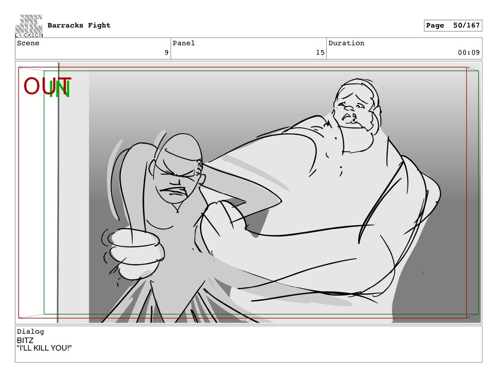 "Scene 9 Panel 15 Duration 00:09 Dialog BITZ ""I'..."