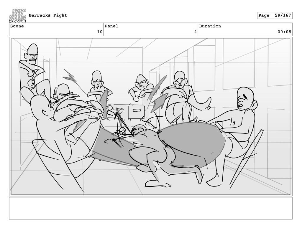 Scene 10 Panel 4 Duration 00:08 Barracks Fight ...