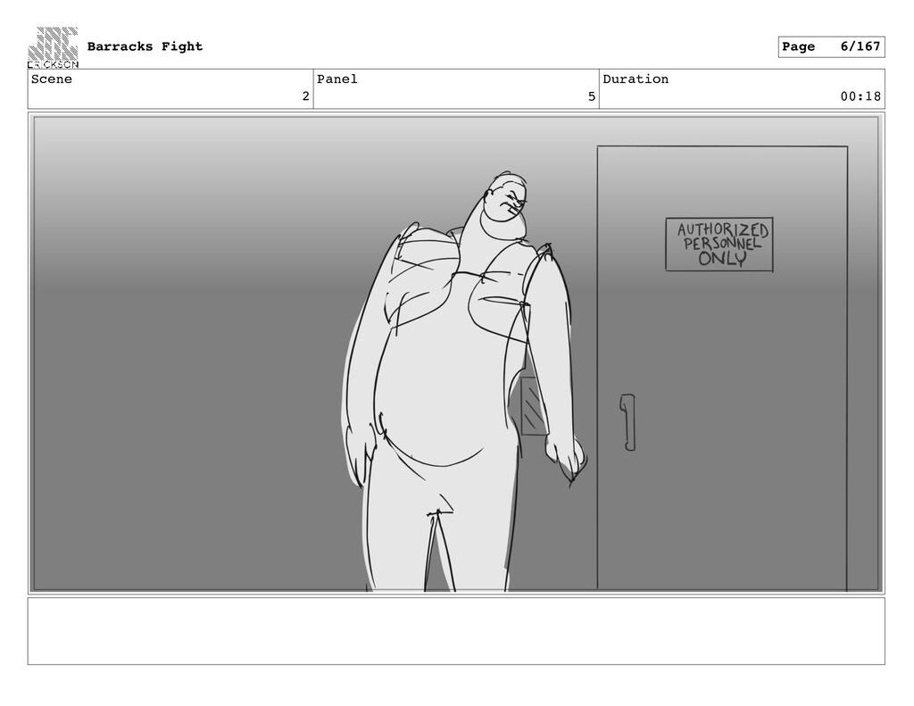 Scene 2 Panel 5 Duration 00:18 Barracks Fight P...