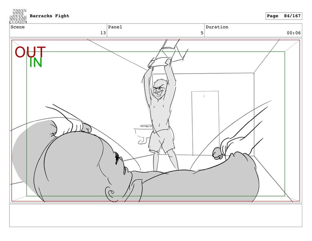 Scene 13 Panel 5 Duration 00:06 Barracks Fight ...