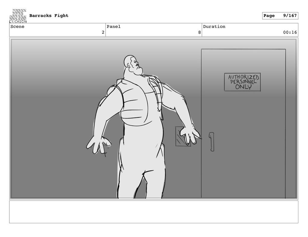 Scene 2 Panel 8 Duration 00:16 Barracks Fight P...
