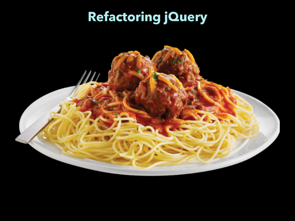 Refactoring jQuery