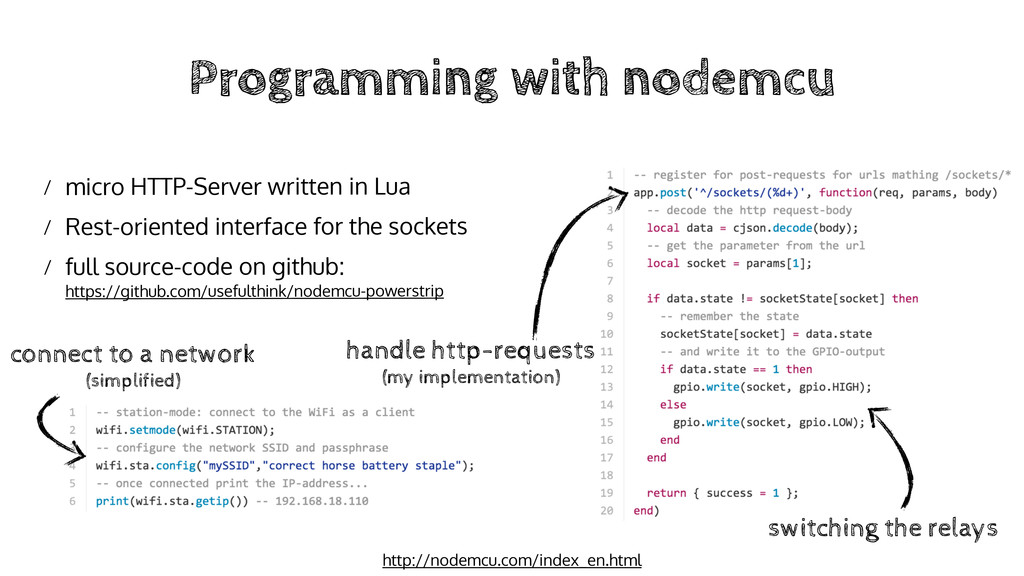 Programming with nodemcu / micro HTTP-Server wr...