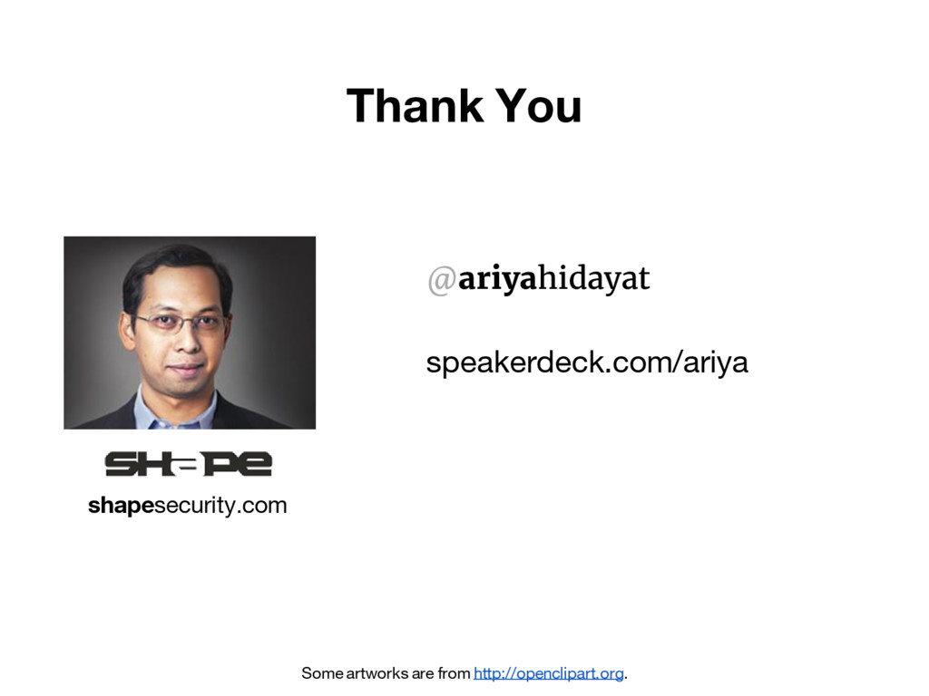 Thank You Some artworks are from http://opencli...