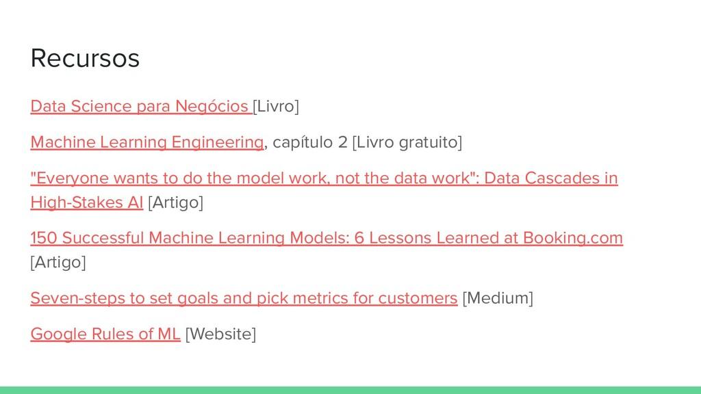 Recursos Data Science para Negócios [Livro] Mac...