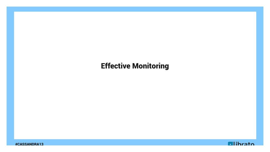 #CASSANDRA13 Effective Monitoring