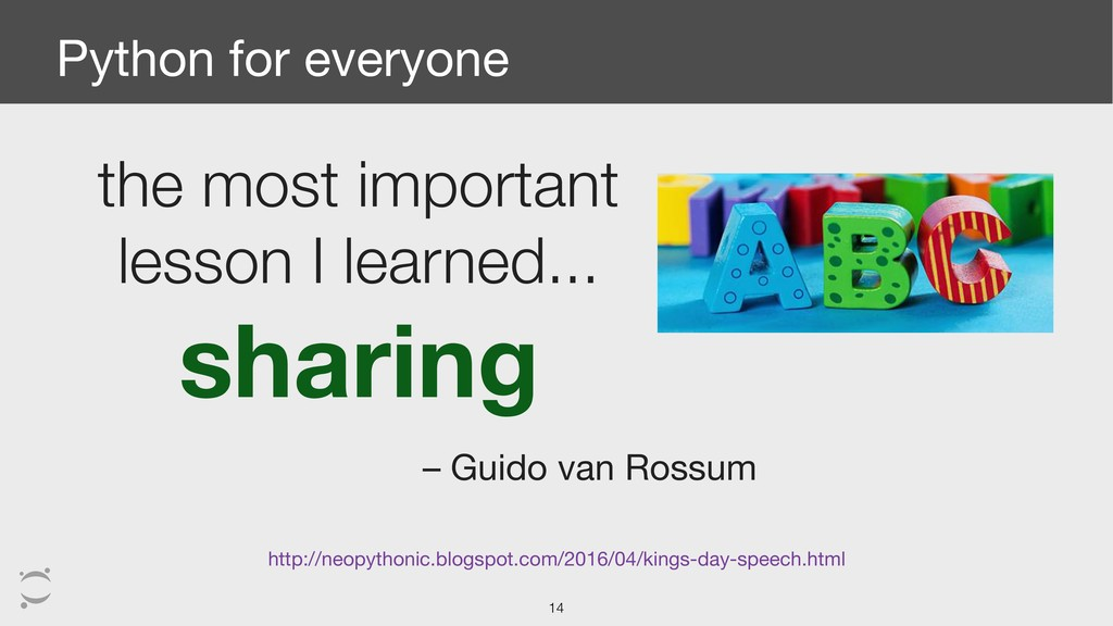 Python for everyone the most important lesson I...