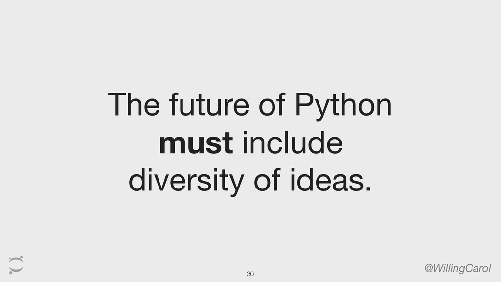 The future of Python must include diversity of ...
