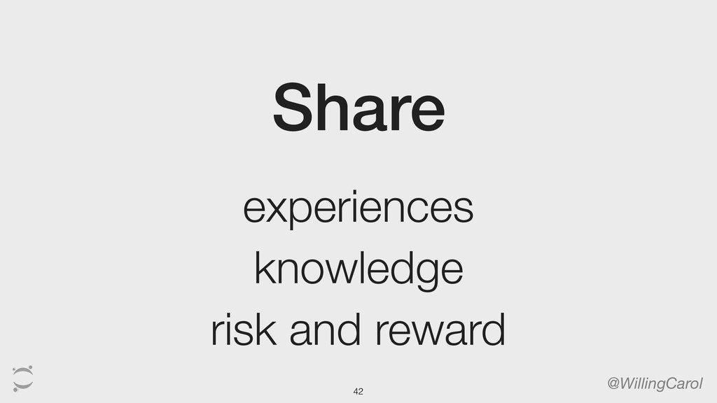Share @WillingCarol experiences knowledge risk ...