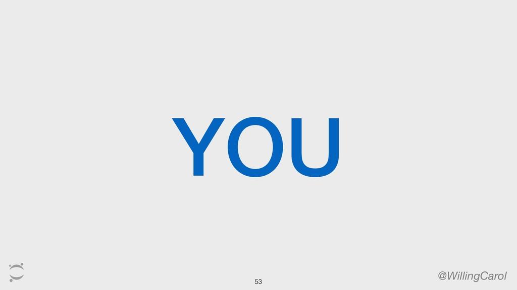 YOU @WillingCarol 53