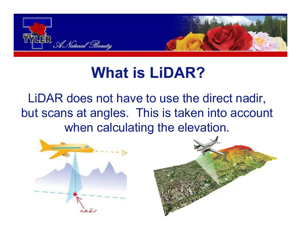 What is LiDAR? LiDAR does not have to use the d...