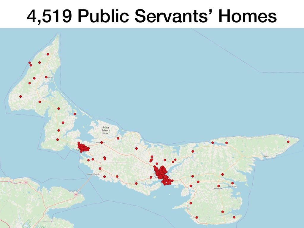 4,519 Public Servants' Homes