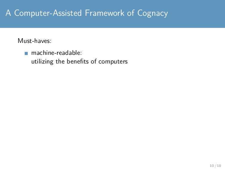 A Computer-Assisted Framework of Cognacy Must-h...