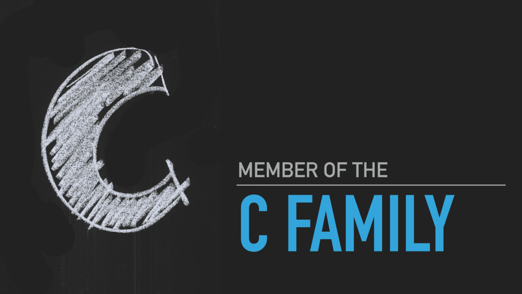 C FAMILY MEMBER OF THE