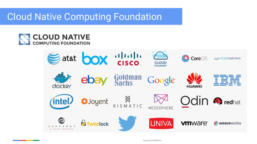 Google Cloud Platform Cloud Native Computing Fo...