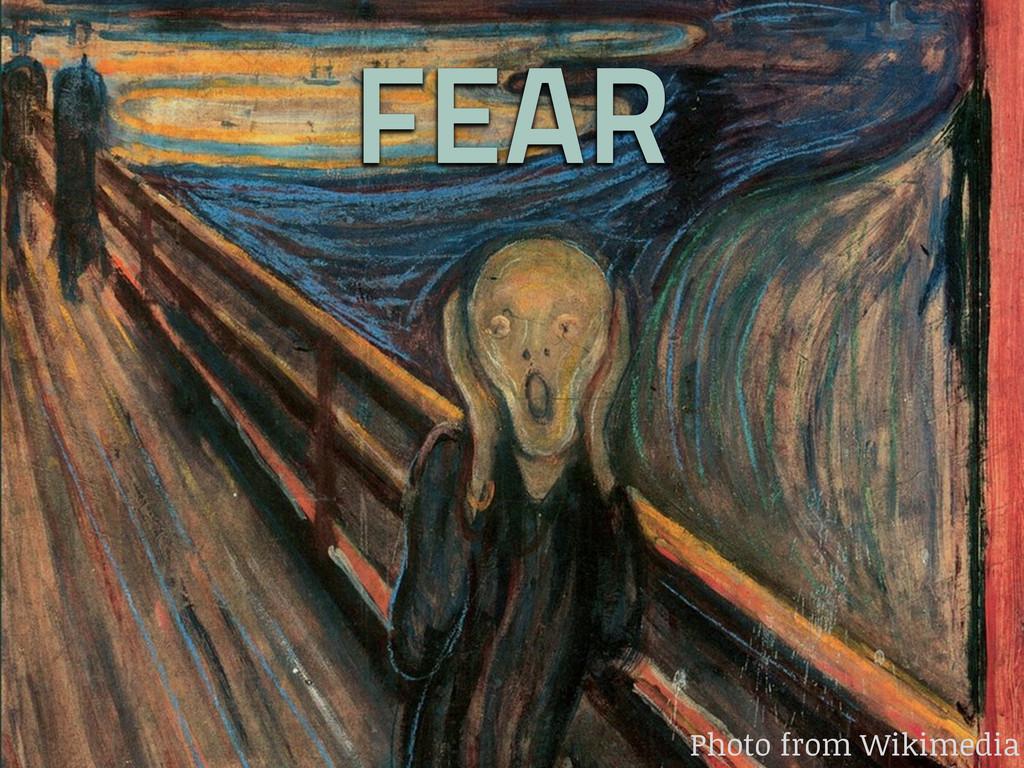 FEAR Photo from Wikimedia
