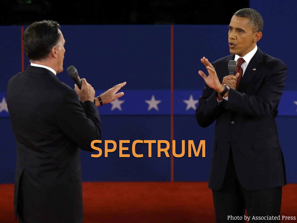 Photo by Associated Press SPECTRUM
