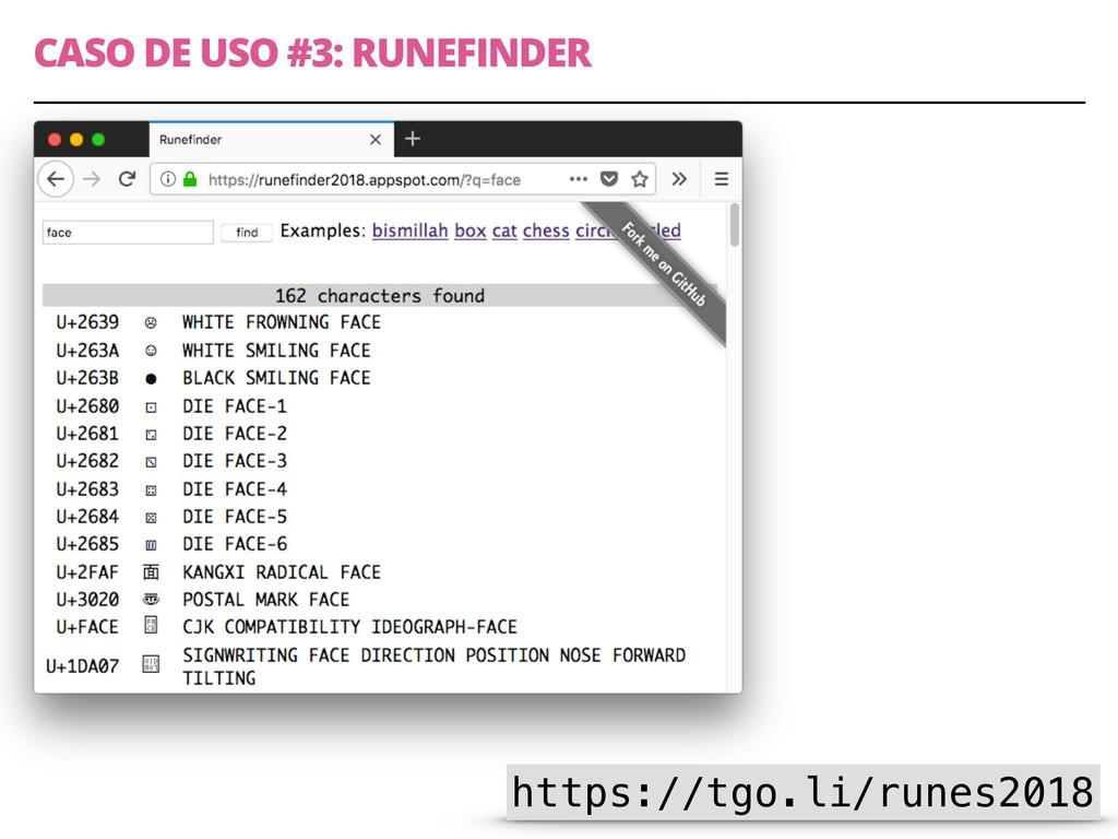 CASO DE USO #3: RUNEFINDER 11 https://tgo.li/ru...