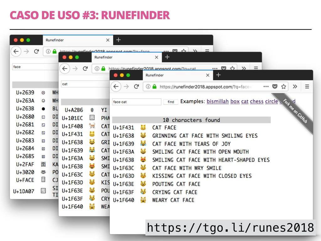 CASO DE USO #3: RUNEFINDER 13 https://tgo.li/ru...