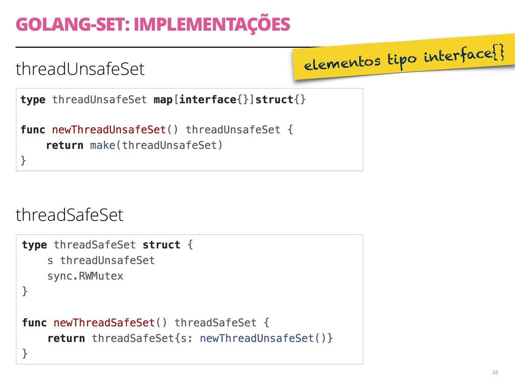 threadUnsafeSet threadSafeSet GOLANG-SET: IMPLE...