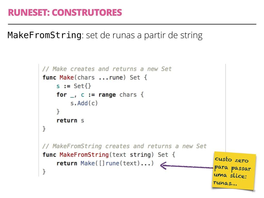MakeFromString: set de runas a partir de string...