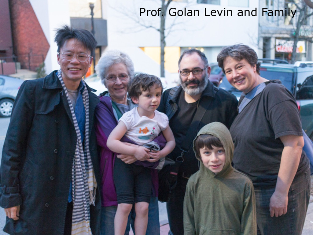 Prof. Golan Levin and Family