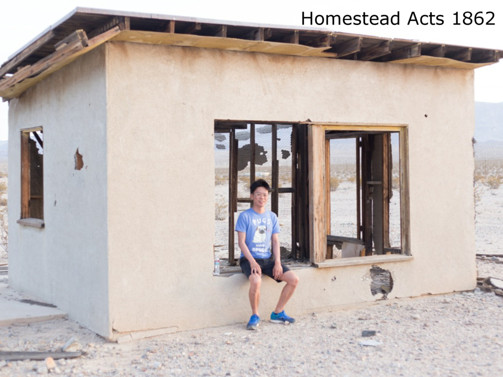 Homestead Acts 1862