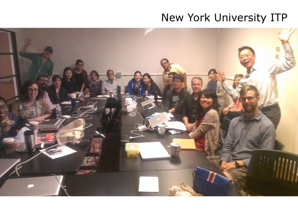 New York University ITP