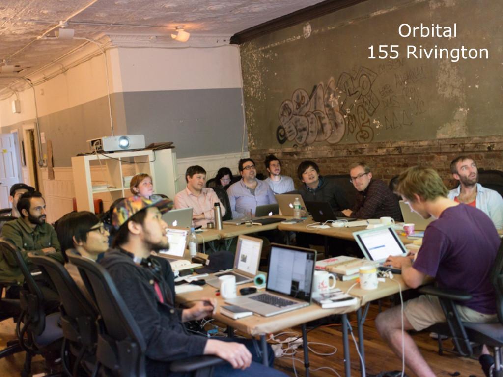 Orbital 155 Rivington
